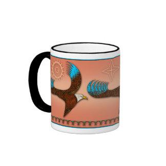 3 Eagle-Sun Ringer Mug