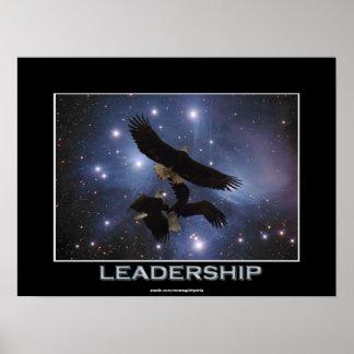 3 Eagles y posters de la fantasía del espacio exte