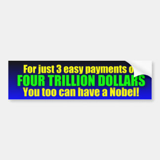 3 Easy Payments Bumper Sticker