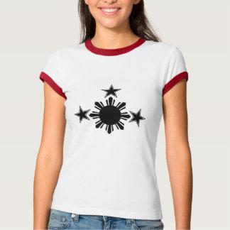 3 estrellas y un Sun Playera