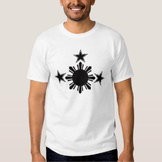 3 estrellas y un Sun Remeras