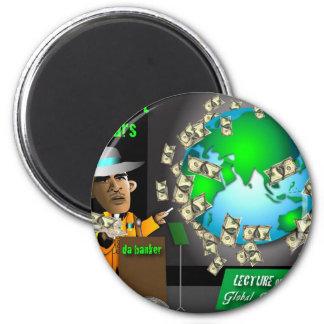 3 export dollars fridge magnets