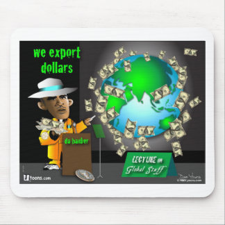 3 export dollars mouse pad