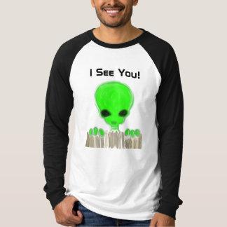 3-Eyed Alien (front & back) shirt