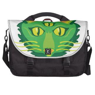3 eyed cat laptop bag