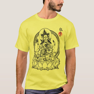 3 Faces of Buddha T-Shirt