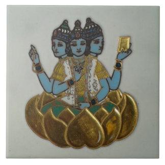 3 Faces Shiva Ceramic Tiles