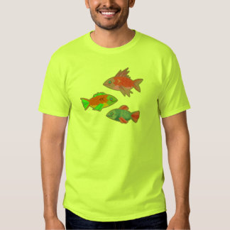 3 Fizzidy Fishes Shirts