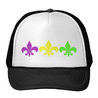 3 Fleur de Lis Trucker Hat