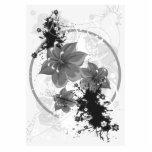 3 flores bonitas - infrarrojo de B&W Escultura Fotografica