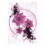 3 flores bonitas - rosa escultura fotográfica