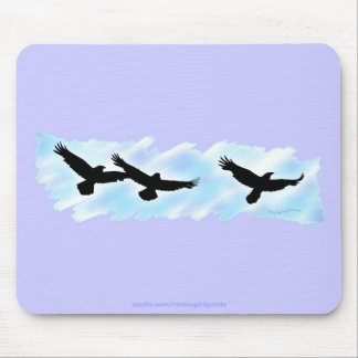 3 FLYING RAVENS Gift Series Mouse Pad