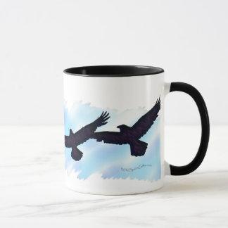 3 FLYING RAVENS Gift Series Mug