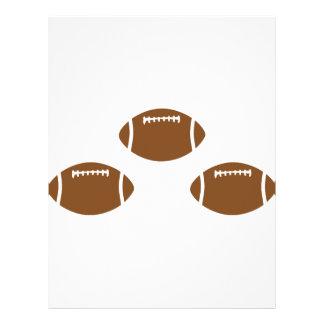 3 footballs letterhead
