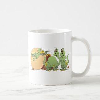 3 Friendly Dinosaurs Coffee Mug