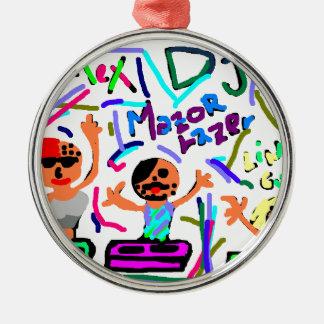 3 Friends Metal Ornament