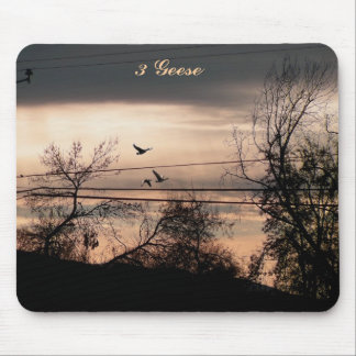 3 Geese Mouse Pad