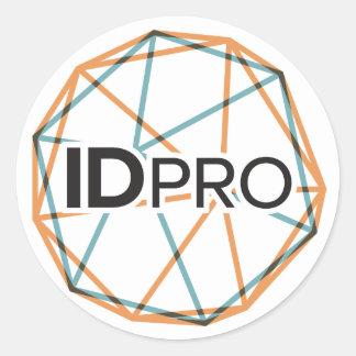 """3"""" Glossy IDPro Sticker"""