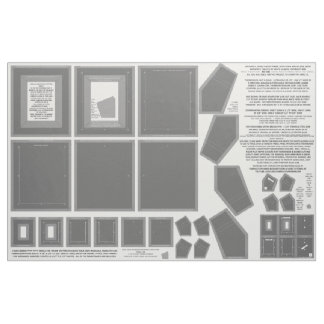 3 Gray Zazzle Fabric photo frame crafts