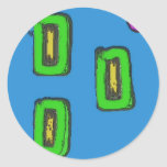 3 green rectangles and a purple circle.jpg round stickers