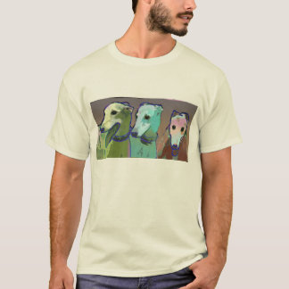 3 greyhounds -- T SHIRT