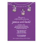 3 Hanging Mason Jars - Bridal Shower Announcement