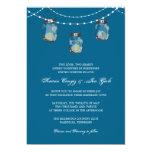 3 Hanging Mason Jars - Bridal Shower Invitation