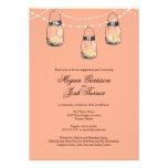 3 Hanging Mason Jars - Engagement Party Invites