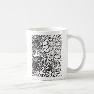 3 Headed Creature Coffee Mug