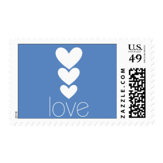 3 Heart   Love Stamp
