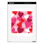 <3 HEARTS <3 DECAL FOR THE iPad 2