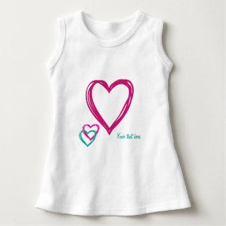 3 hearts dress