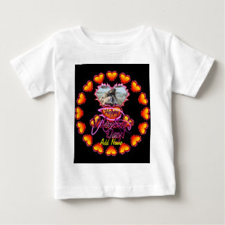 3 Hearts Happy Valentine's Day neon sign Tee Shirt