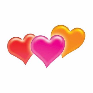 3 Hearts - Photo Sculpture