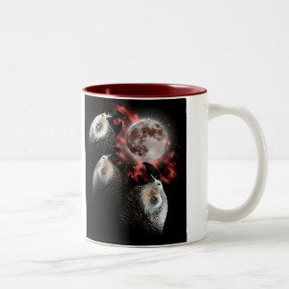 3 Hector, 1 Moon Two-Tone Coffee Mug