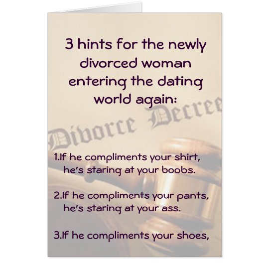 3 Hints For Women Card