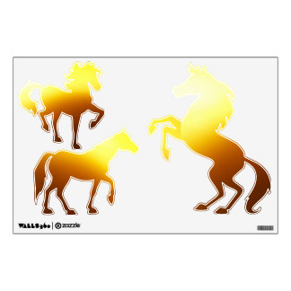 3 Horses Wall-Decal© Roseanne Pears 2012. Wall Sticker