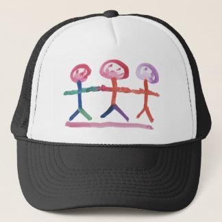 3 Human Beings Trucker Hat