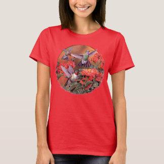 3 Hummingbirds Bird Tee T-shirt