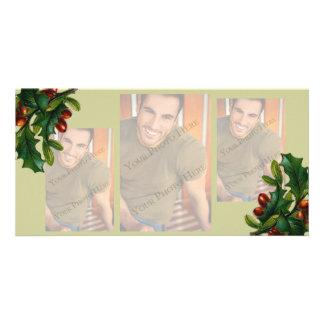 3 image Christmas Photo Cards