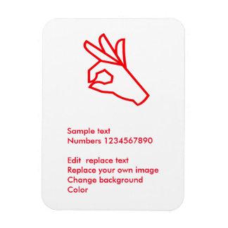 """3"""""""" imán de la foto x4: Regalos decorativos de la"""