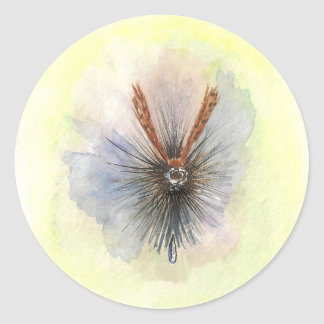 3 Inch Adams Dry Fly Stickers
