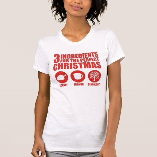 3 ingredientes t-shirts