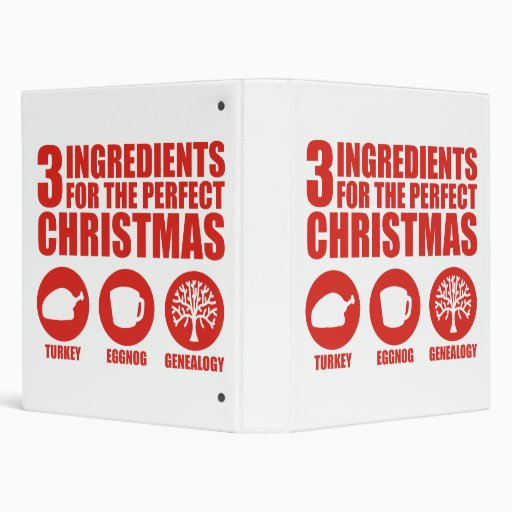 3 Ingredients 3 Ring Binders