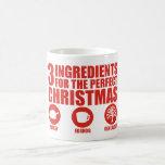 3 Ingredients Coffee Mug