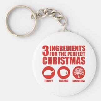 3 Ingredients Keychain