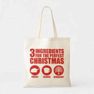 3 Ingredients Tote Bag