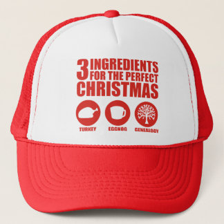 3 Ingredients Trucker Hat
