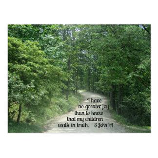 3 John 1:4 Postcard