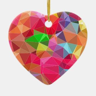 3.jpg polivinílico bajo adorno navideño de cerámica en forma de corazón